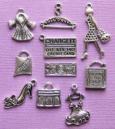 Comercial encanto colección tono plata antigua por BohemianFindings