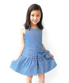 This Royal Blue Bella Dress - Toddler & Girls is perfect! #zulilyfinds