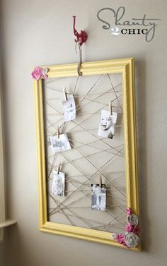 Wouldn't this be a great way to display Scripture Art printables?