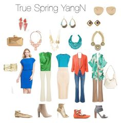 True Spring Yang Natural by winter-belle on Polyvore