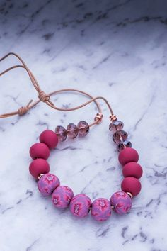 From Copper&Belle on facebook polymer clay beads