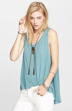 Free+People+'Cruz'+Cape+Tank+available+at+#Nordstrom
