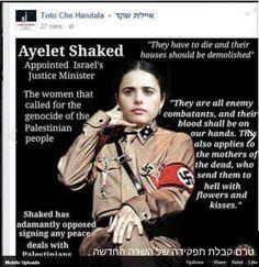 Provocação à ministra de Justiça israelense gera medidas especiais de segurança.