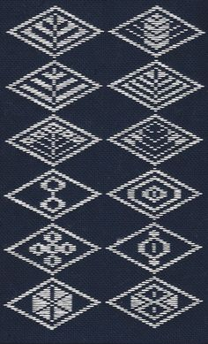 Even more free kogin patterns