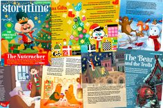 Find out more about the Christmas stories for kids and gorgeous illustrations in our Storytime Christmas issue: http://www.storytimemagazine.com/news/inside-stories/christmas-stories-for-kids/