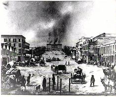 December 14, 1849: On the thirtieth anniversary of Alabama statehood the capitol in Montgomery is destroyed by fire. The building had been erected only two years earlier, after Montgomery succeeded Tuscaloosa as the seat of state government. Construction of the new capitol was completed in 1851.