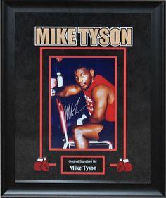 Mike Tyson Signed Photo - Framed Artist Series