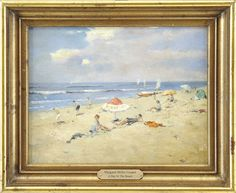 ATTRIBUTED TO MARGARET MILLER COOPER (American, 1874-1965) A DAY AT THE BEACH.