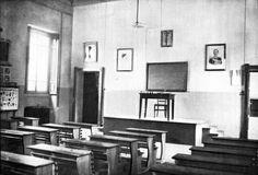 Un aula del Padiglione Genietto asilo Lesa