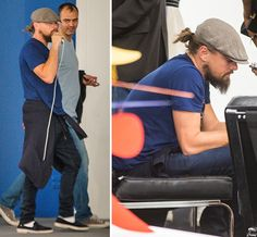 Leonardo DiCaprio Smokes On His Rechargable Vapor Pen At Art Basel ...