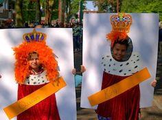 Knutselen voor koningsdag. Wil jij een dagje Koning of Koningin zijn?