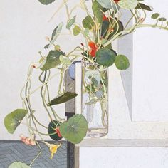 Australian artist Cressida Campbell (b. Sydney, Australia) is celebrated for her meticulous technique that combines both painting and printing. Botanical Drawings, Botanical Art, Watercolor Flowers, Watercolor Paintings, Watercolours, Fleurs Art Nouveau, Illustrations, Illustration Art, Fru Fru