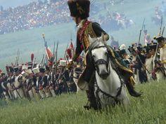 Battle of Waterloo re-enactment, Waterloo, Belgium, June 2010. Okay, so my shot was crooked, but I like it anyway.