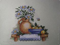 """Картина, панно, рисунок Вышивка крестом: серия """"полочек"""" для кухни Канва, Нитки. Фото 4"""