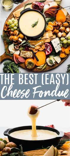 Best Cheese Fondue, Beer Cheese, Easy Cheese Fondue Recipe, Cheese Recipes, Easy Appetizer Recipes, Best Appetizers, Healthy Recipes, Melting Pot, Wine Recipes