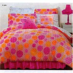 1000 images about house ideas on pinterest twin - Red and orange comforter sets ...