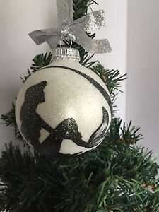 disneys the little mermaid princess ariel hand painted glass christmas ornament - Little Mermaid Christmas Ornaments