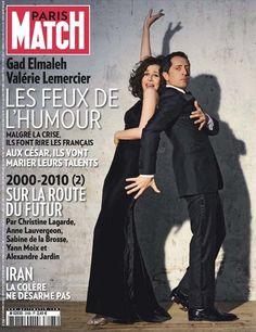 Couverture 3163 du magazine PARIS MATCH : Valérie Lemercier, Gad Elmaleh