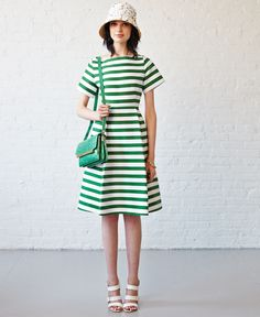 #Modest doesn't mean frumpy. #DressingWithDignity www.ColleenHammond.com kate spade new york spring 2015