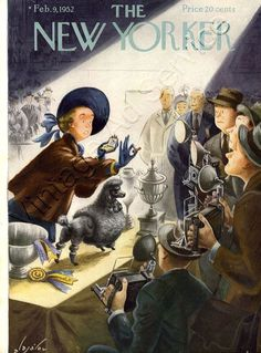 February 9, 1952 - Cover by Constantin Alajálov