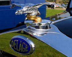 La marque française Delage fut fondée en 1905 par Louis Delâge à Levaillois-Perret, Paris, cessation d'activité en 1954.