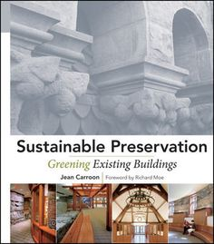 Book Cover Image For Sustainable Preservation Greening Existing Buildings