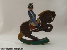 Kay Bojesen, dragoon on horse