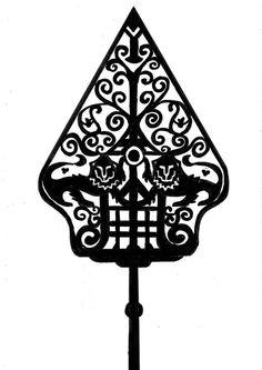 Gunungan tatoo idea Wayang Kulit: by imfromdunman Use of the Movie Puppet idea: by imfromd However Bonsai Tree Tattoos, Tattoo Tree, Tattoo Ink, Voodoo Doll Tattoo, Tree Silhouette Tattoo, Shadow Tattoo, Tree Branch Decor, Family Tree Poster, Graffiti Font
