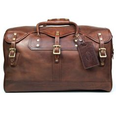 ***We welcome the chance to discuss our pricing on this item. Please contact us to see how affordable we can make this for you.*** With the J. W. Hulme Co. Small Classic Duffle Bag in American Heritag