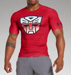 Men's Under Armour® Alter Ego Transformers Autobots Classic Compression Shirt | Under Armour US