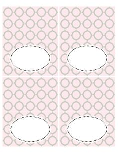 FREE printable Sweets Labels | place cards | Seriously Daisies