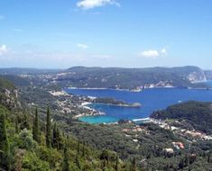 Corfu Island in Greece- one of the most beautiful places i've ever been Corfu Hotels, Corfu Island, Parasailing, Greece Islands, Honeymoon Destinations, Great View, Virtual Tour, Where To Go, Places Ive Been