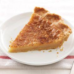 Wick's Sugar Cream Pie Recipe - Key Ingredient