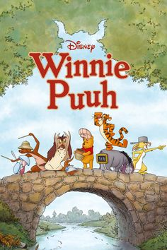 Disney Film Posters Like You've Never Seen Them Before | Winnie the Pooh