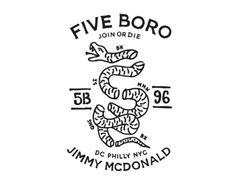Five Boro by Jimmy McDonald