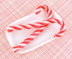 Candy Cane Soap!