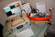 Making an autonomous boat using a Raspberry Pi (a work in progress).