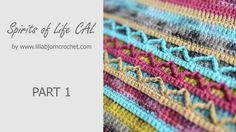 Welcome to Spirits of Life Wrap CAL. Part 1 is a slow introduction into overlay crochet. Crochet Chart, Crochet Stitches, Crochet Baby, Crochet Patterns, Corner To Corner Crochet, Manta Crochet, Crochet World, Crochet Instructions, Ornaments Design