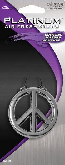 Chic® PLATINUM™ AIR FRESHENER-PEACE SIGN  Item A4001