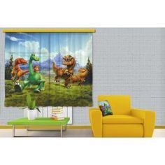 Dínó tesó függöny, dinoszaurusz gyerek függöny (180 x 160 cm)