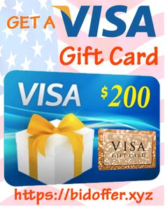 Get a VISA gift card giveaway for free. Just enter now by clicking on this pin and complete some easy steps. -Good Luck.  #visagiftcard #visagiftcard2019 #visagiftcardgiveaway #visagiftcardusa #visagiftcardfree #visagiftcardcodes #visagiftcarduk #visagiftcardforfree #visagiftcards Paypal Gift Card, Gift Card Sale, Visa Gift Card, Gift Card Giveaway, Prize Giveaway, Netflix Gift Card, Itunes Gift Cards, Free Gift Cards, Gift Card Generator
