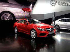 Mercedes E-Class Coupe 2014 Red