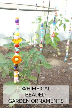 DIY Whimsical beaded