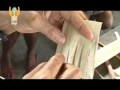 ▶ Artesanías de Fibras Vegetales de Campeche, Sombrero de Jipi - YouTube