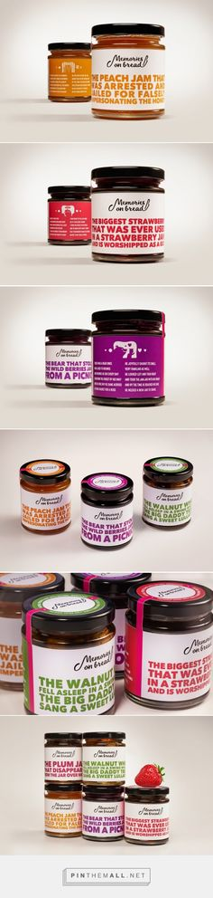 Memories on Bread Jams (Concept) - Packaging of the World - Creative Package Design Gallery - http://www.packagingoftheworld.com/2016/06/memories-on-bread-jams-concept.html