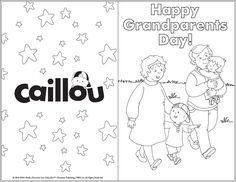 Happy Grandparents Day! – Printable Greeting Card
