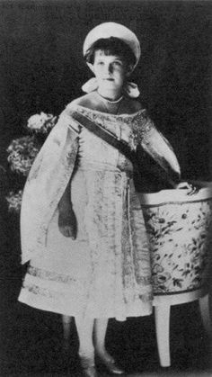 The Grand Duchess Anastasia of Russia in 1910