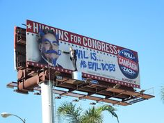 The Campaign special installation billboards