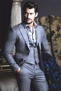 'The Timeless Man' David Gandy covers FHM Collections China A/W 2014 edition; photos by clothing by In the aptly-titled editorial, Jumbo Tsui beautifully captures David Gandy's. Der Gentleman, Gentleman Style, Mode Masculine, Sharp Dressed Man, Well Dressed Men, Moda Formal, David James Gandy, David Gandy Suit, David Gandy Style