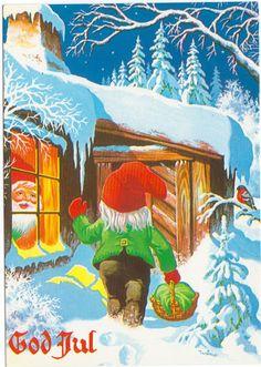Wimo Christmas Greeting Cards, Christmas Greetings, Elf Art, Scandi Christmas, Picasa Web Albums, Leprechaun, Goblin, Beautiful Christmas, All Things Christmas